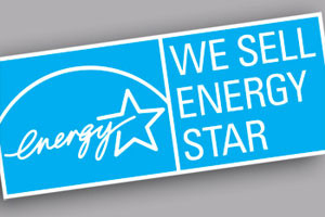We sell energy Star rated products
